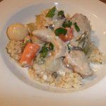 Creamy Pork Stew- A Yummy Crockpot Meal!