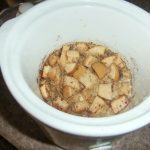 Overnight Crock Pot Apple Oatmeal