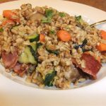 Toasted Barley Salad