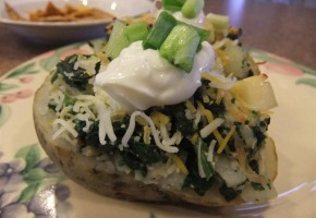 Turkey Stuffed Potato