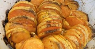 Easy Baked Sweet Potatoes