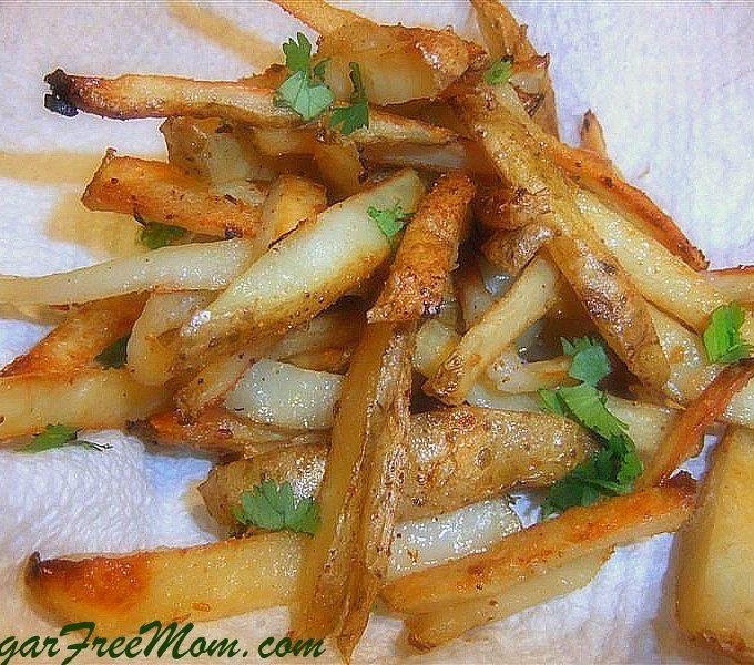 Garlic Baked Fries