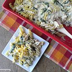 Lean Turkey Tetrazzini (Leftover) Recipe