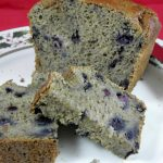 Sugar-Free Blueberry Banana Bread