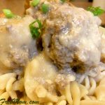 Creamy Crock Pot Meatballs