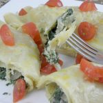 Spinach, Chicken, Mushroom Clean Eating Crepes Recipe Review
