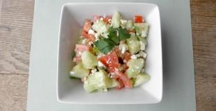 Cucumber Feta Relish