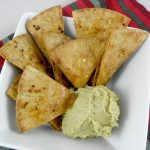 Whole Wheat Garlic Pita Chips