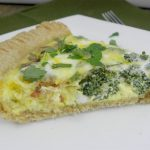 Bacon, Cheddar, Broccoli Quiche Recipe