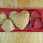 Heart Shaped Whole Wheat Mini Calzones