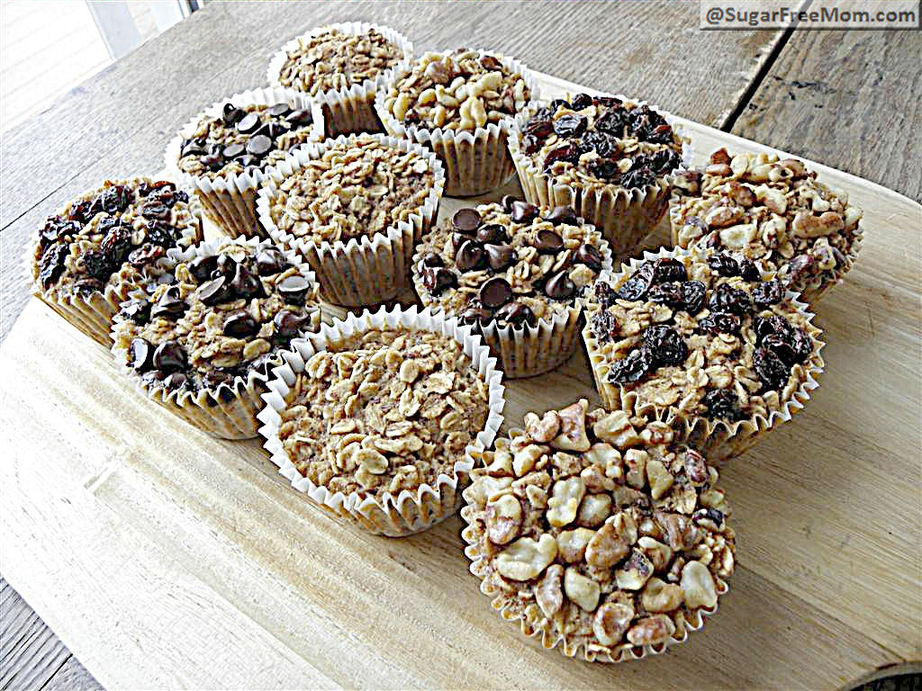 Personal Baked Oatmeal with Individual Toppings