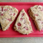 Clean Eating Strawberry Scones