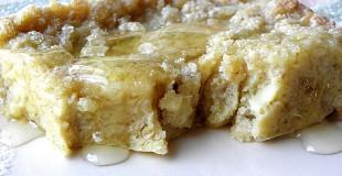 Whole Wheat Banana Puff Pancake