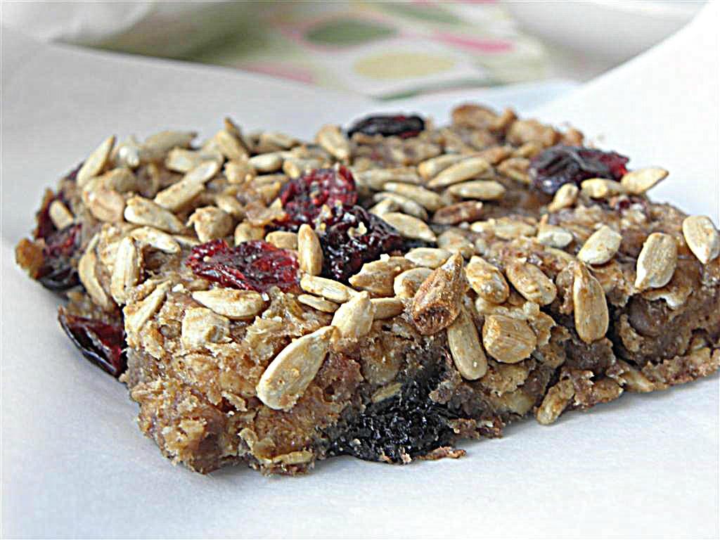 Oat & Fruit Breakfast Bars: Dairy, Egg, Sugar, Flour, Nut & Gluten ...
