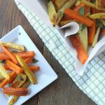 "Roasted Carrots & Parsnip ""Fries"""