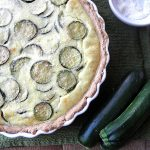Zucchini Ricotta Whole Wheat Pie