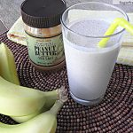 Peanut Butter Banana Chia Smoothie: No Sugar Added
