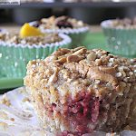 PB&J Baked STEEL CUT Oat Cups