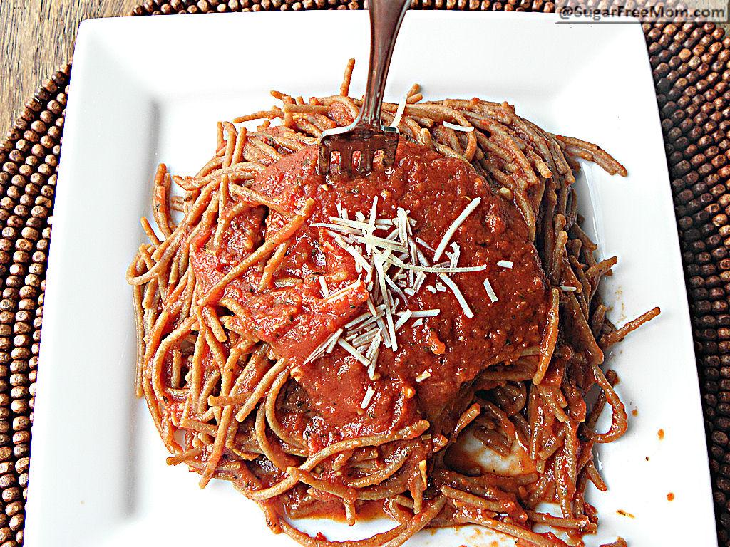 Quick Italian Marinara Sauce: No Sugar Added