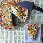 Meatless Monday: Healthy Italian Spinach Pie