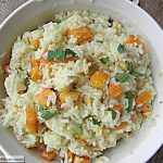 Roasted Butternut Squash & Apple Risotto