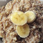 Overnight Banana Steel Cut Oats