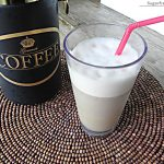 Low-Calorie Iced Coffee Vanilla Frappe [Dairy Free]