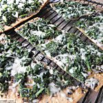 Spinach Mozzarella Pesto FlatOut Pizza