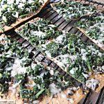 Spinach Mozzarella Pesto FlatOut Pizza