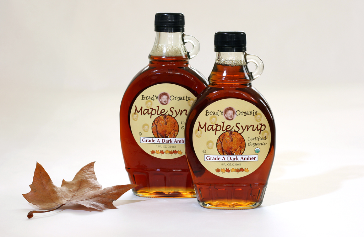 maple syrup When you think of maple syrup, whose 2009 season is just now wrapping up, the first image that pops into your mind is probably a huge tree trunk with a few metal buckets strapped on.