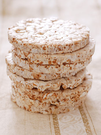 Rice Cakes And Almond Butter