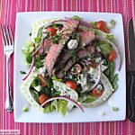 Blue Cheese Fennel Steak Salad