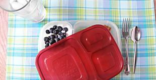 Fruity Baked Quinoa Meal-To-Go: [Vegetarian, Gluten & Sugar Free]