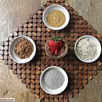 No Bake Chocolate Peanut Butter Chia Oats [No Sugar Added]