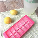 Lemonade Ice cubes: No Sugar Added