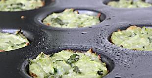 Mini Zucchini Cheese Bites