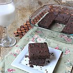 Gluten Free Chocolate Brownies: No Sugar Added