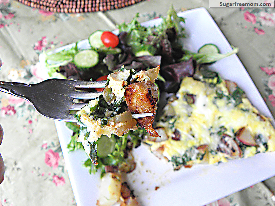 feta frittata from aggie s kitchen asparagus spinach and feta frittata ...