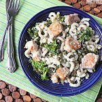 Pork Piccata with Kale & Lemon Sauce