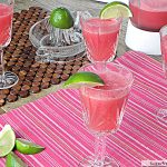 Watermelon Lime Spritzer: No Sugar Added