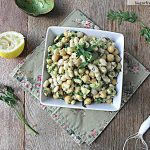 Avocado Bean Salad with Fresh Herbs