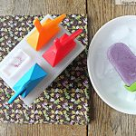 Low Fat Blueberry Protein Popsicles: No Sugar Added