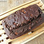 Double Chocolate Zucchini Bread: No Sugar Added
