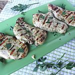 Grilled Chicken with Fresh Herb Marinade