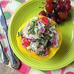 Mayo Free Cilantro Chicken Salad
