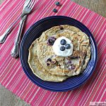 Healthy Blueberry Oat Pancakes: No Sugar Added