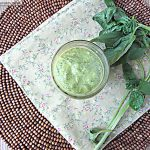 Homemade Pesto Sauce: Nut Free