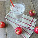 Healthy Apple Pie Protein Smoothie: No Sugar Added