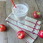 Healthy Apple Pie Protein Smoothie: No Sugar Added