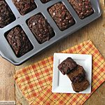 Mini Whole Wheat Chocolate Pumpkin Breads: No Sugar Added